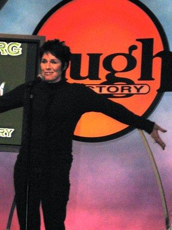 Jennifer Lee Pryor at Laugh Factory