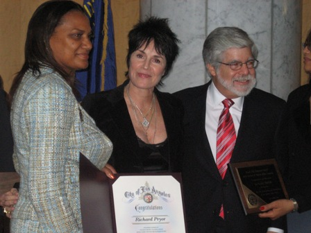 Jennifer Lee Pryor receives NAACP Image Award for producing Richard Pryor documentary