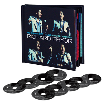 Richard Pryor Box Set CDs