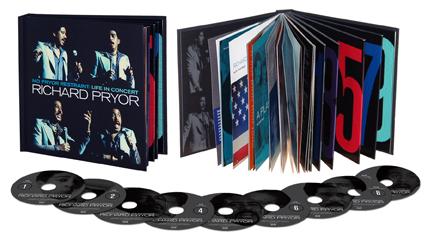 Richard Pryor Box Set CDs