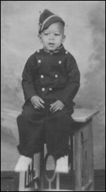 Richard as a young boy
