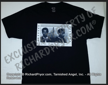 Offical Richard Pryor 1963 Mugshot T-Shirt