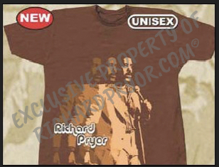 Official Estate of Richard Pryor Triple Shot Brown T-Shirt