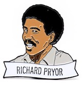Richard Pryor® Enamel Pin Collectible
