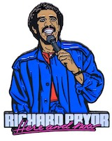 Richard Pryor® Here and Now Enamel Pin Collectible
